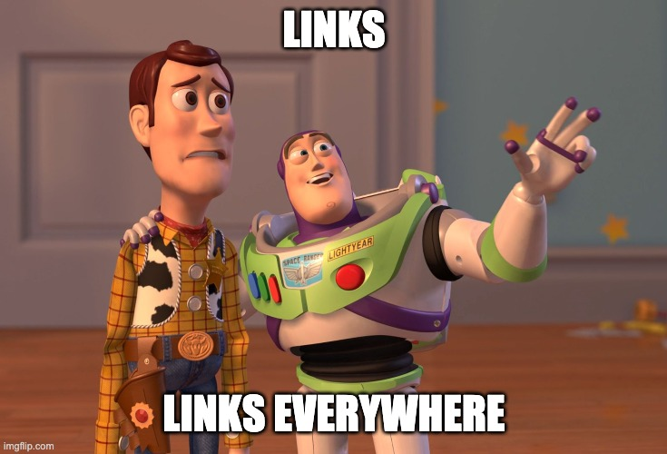 links, links everywhere