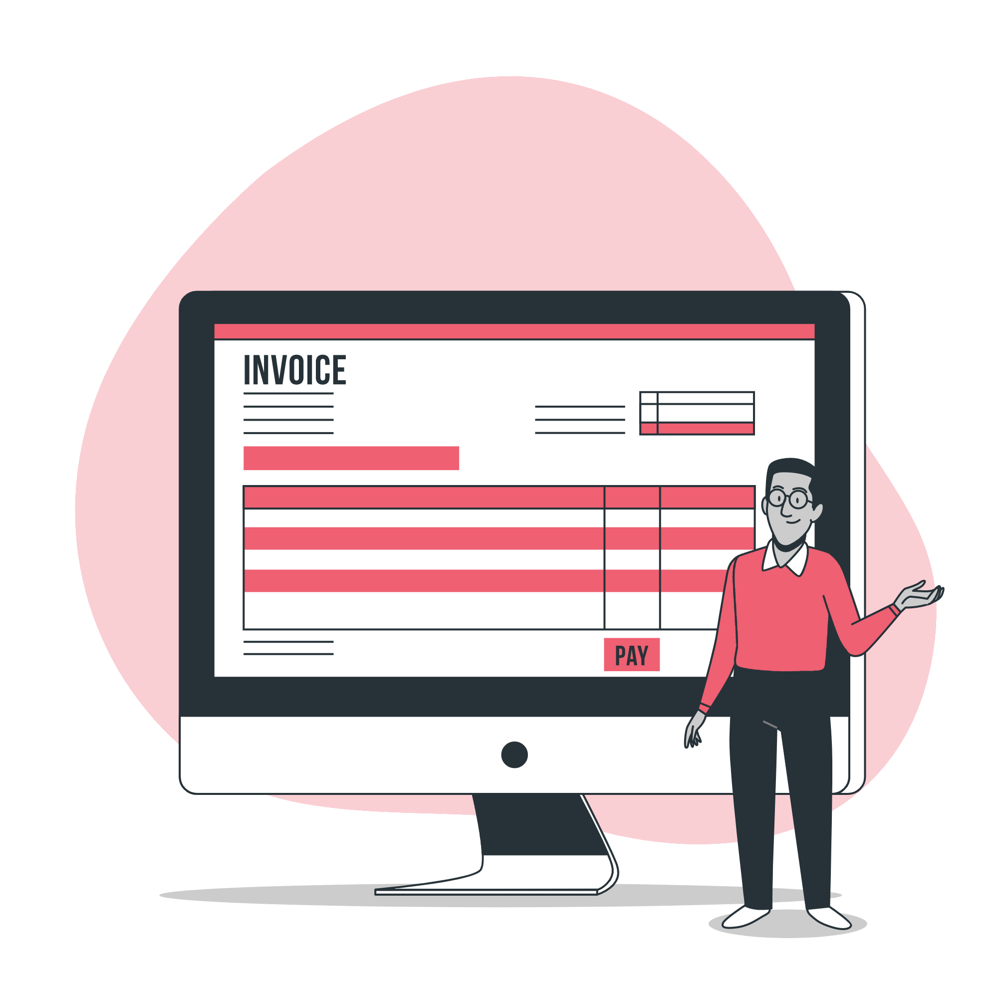 Separate billing functionality