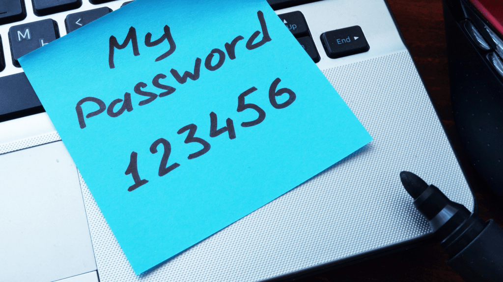 risk of sharing passwords