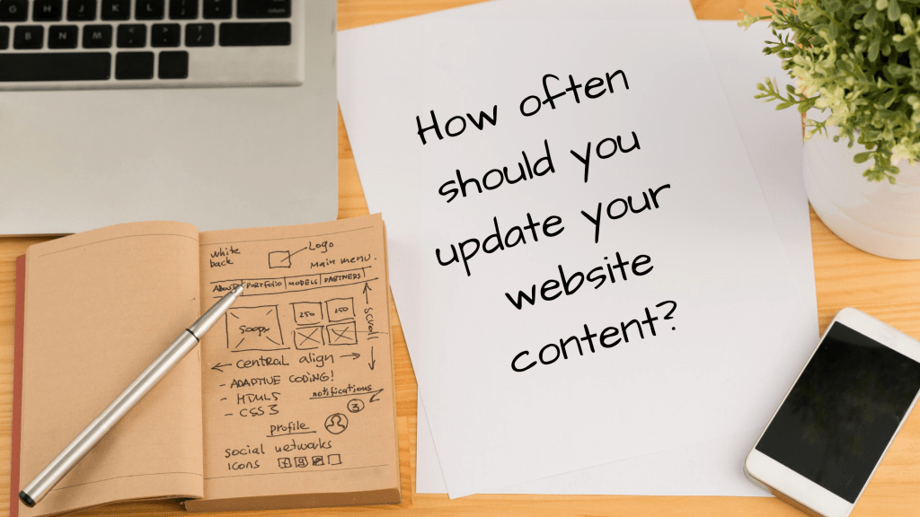 How often should you update your website content